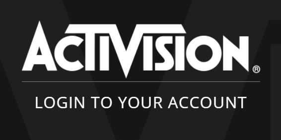 Activision Logo Login to your Account
