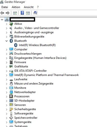 Windows 10 Habe ich Bluetooth?