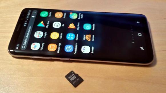 Bilder Auf Sd Karte Verschieben S8.Samsung Galaxy S8 Speicherkarte Formatieren Micro Sd