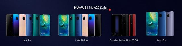 Huawei Mate 20 Pro Modelle