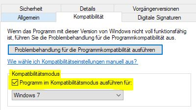 Windows 10 Kompabilitätsmodus Windows 10 - Spotify Intallation
