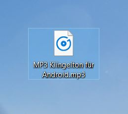 MP3 Klingelton Android