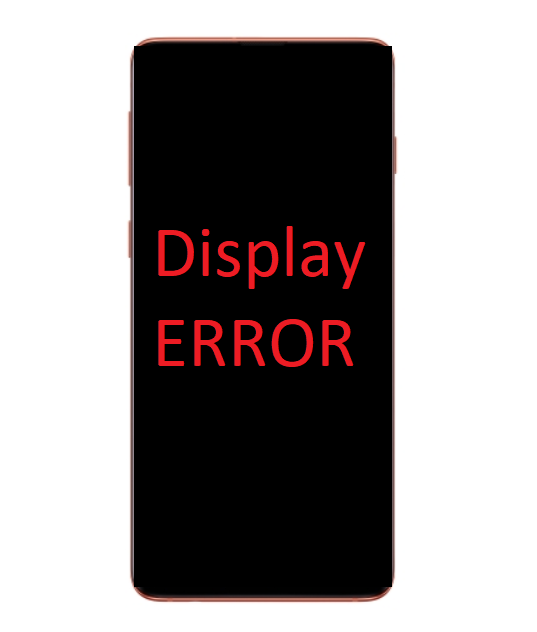 Samsung Galaxy S10 Display Error