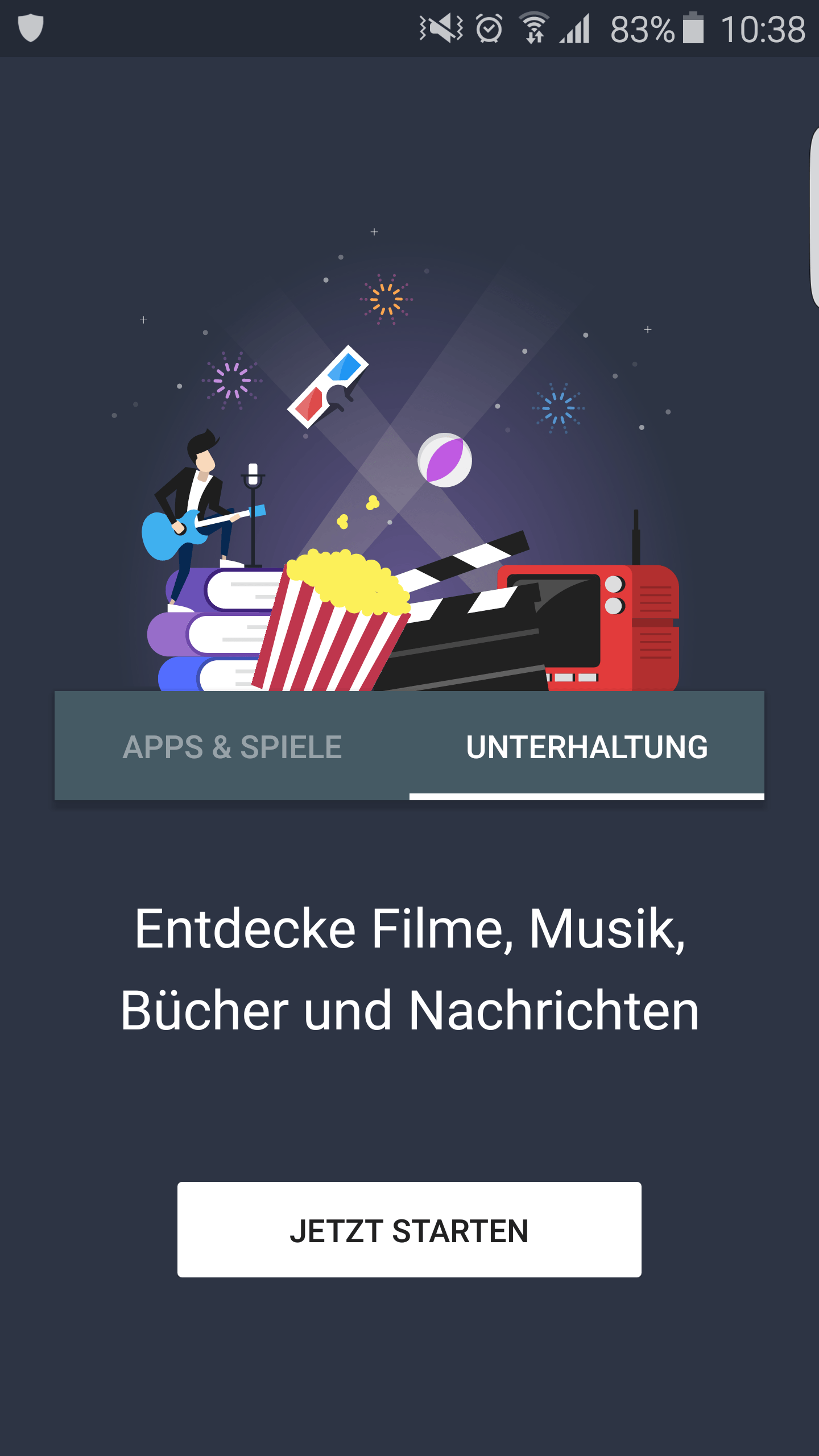 Neuer goofle Play Store