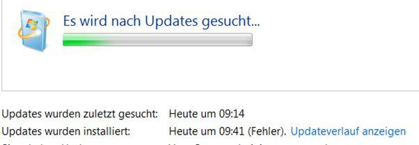 Windows Update Suche