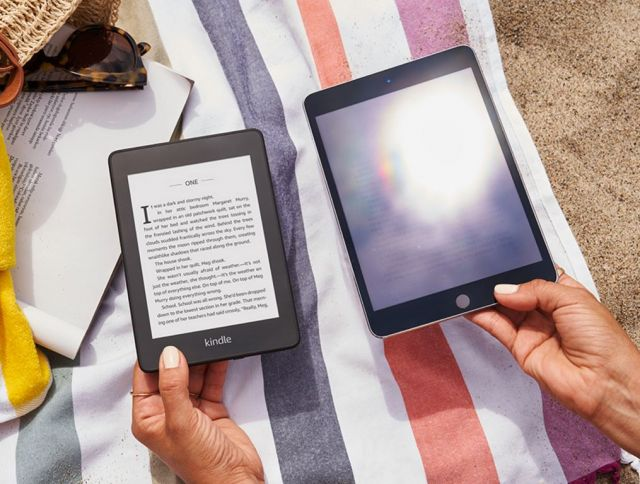 Amazon Kindle Sonne