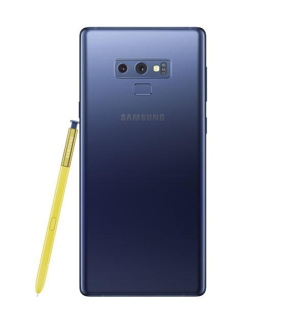 Ocean Blue Samsung Galaxy Note 9