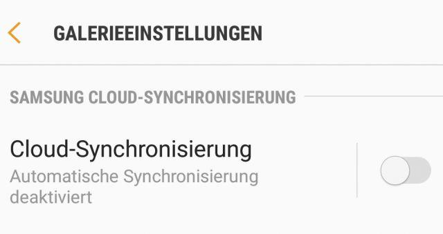 Cloud Synchronisierung