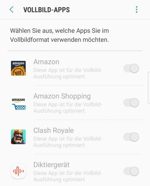 Clash Royale Vollbildmodus