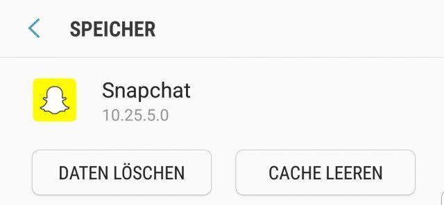 Snapchat Karte Voll.Snapchat Cache Leeren Und Daten Loschen Iphone Und Android