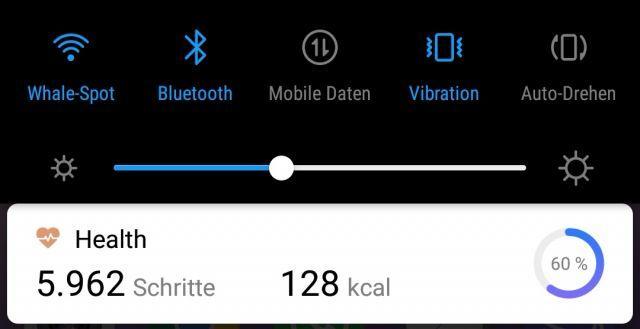 Huawei P20 Pro Schrittzähler In Statusleiste Anzeigen Bzw Deaktivieren