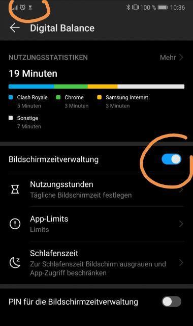 Android bedeutung icons Benachrichtigungen unter
