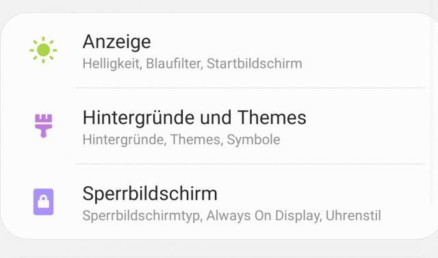 Theme Wechsel - Android 9.0 Pie