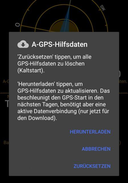 AGPS Daten Update - Samsung Galaxy S8