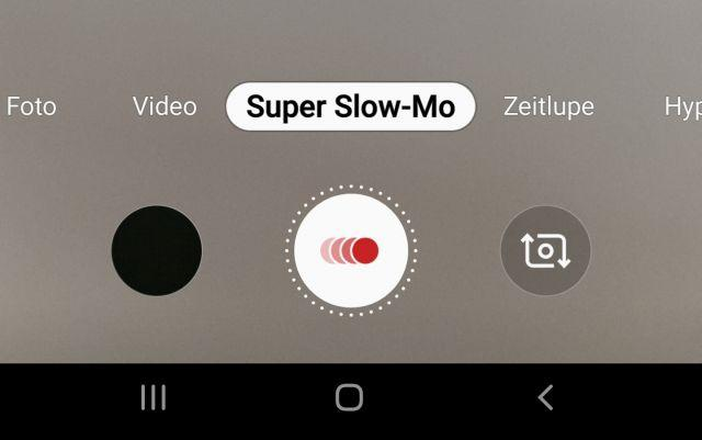 Super Slow Motion Effekt - Kamera-App
