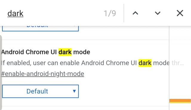 Dark Mode Chrome Browser Flag setzen