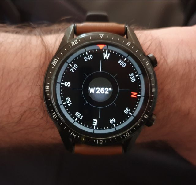 Huawei Watch GT2  Kompass kalibrieren