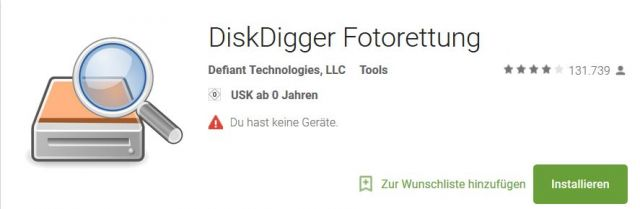 Download DiskDigger für Android