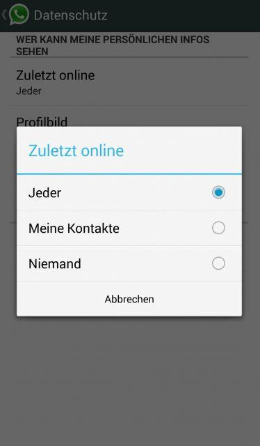 Whatsapp Online Status Verbergen Ab Sofort In Android Integriert