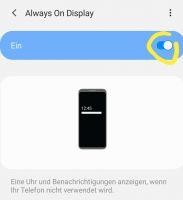 Samsung Galaxy S20, S10, S9 Always On Display aktivieren – Gelöst