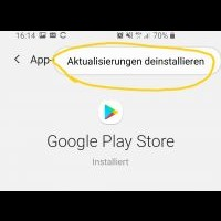 Samsung Galaxy S10 Google Play Store Fehler